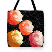Raindrops On Roses - My Favorite Things Tote Bag