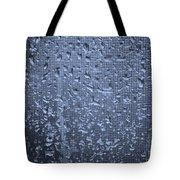 Raindrops On Window I Tote Bag