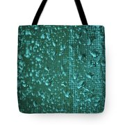 Raindrops On Window Iv Tote Bag
