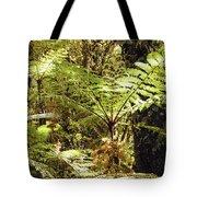 Rainforest Color Tote Bag