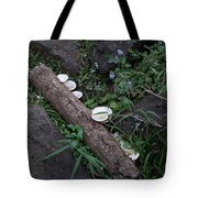 Rainforest Vegetation Moss And Fungi Tote Bag