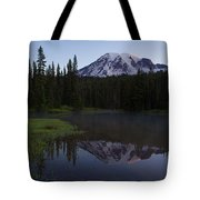 Rainier Awakening Tote Bag