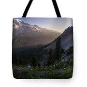 Rainier In The Saddle Tote Bag