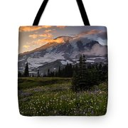 Rainier Meadows Splendor Tote Bag