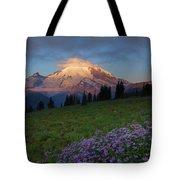 Rainier Morning Cap Tote Bag