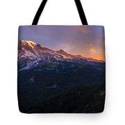 Rainier Soaring Skies Tote Bag