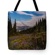 Rainier Tipsoo Wildflowers Tote Bag