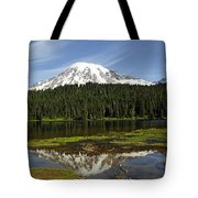 Rainier's Reflection Tote Bag