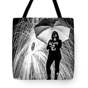 Raining Ring Of Fire Tote Bag