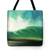 Raining Upward Tote Bag