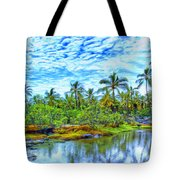 Rainy Afternoon In Kona Tote Bag