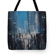Rainy City Tote Bag