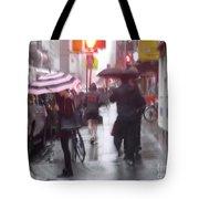 Rainy Corner - New York City Tote Bag