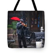 Rainy Day Blues New Orleans Tote Bag