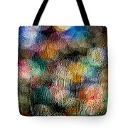 Rainy Day Christmas Tote Bag