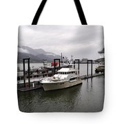 Rainy Day Dock Tote Bag