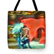 Rainy Day In New York City Tote Bag