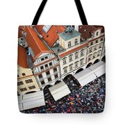 Rainy Day In Prague-2 Tote Bag