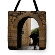 Rainy Day In Provence France Tote Bag