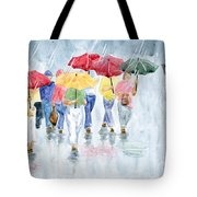 Rainy Day In Rome Tote Bag