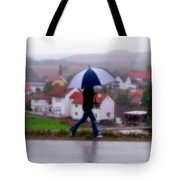 Rainy Day In Sembach Tote Bag