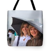 Rainy Day In The Big City Tote Bag
