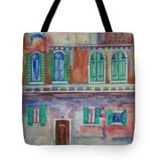 Rainy Day In Venice Italy Tote Bag