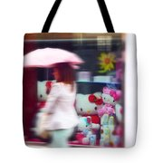 Rainy Day Kitty Tote Bag