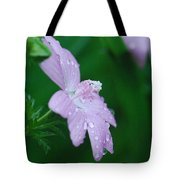Rainy Day Mallow Tote Bag