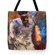 Rainy Day People #4 Tote Bag