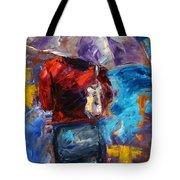 Rainy Day People Tote Bag