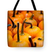 Rainy Day Pumpkins Tote Bag