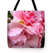 Rainy Day Roses Tote Bag