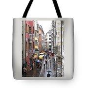 Rainy Day Shopping Tote Bag
