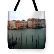 Rainy Day View From Palazzo Grassi Tote Bag