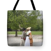 Rainy Day Walk Tote Bag