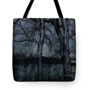 Rainy Days And Mondays- Feature-barns Big And Small-visions Of The Night-photography And Textures Tote Bag