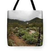 Rainy Desert Tote Bag