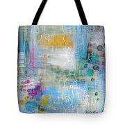 Rainy Garden Tote Bag