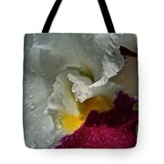 Rainy Orchid Tote Bag