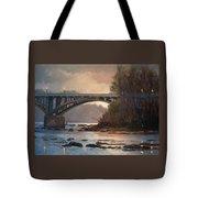 Rainy River Tote Bag