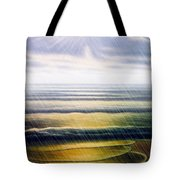 Rainy Seascape Tote Bag