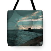 Rainy Skies  Tote Bag