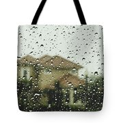 Rainy Tropics Tote Bag