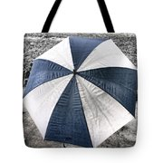 Rainy Umbrella Tote Bag