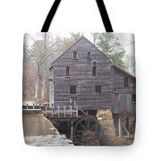Rainy Yates Mill Tote Bag by Kevin Croitz