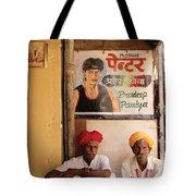 Life Of Rajasthan Tote Bag