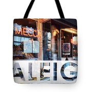 Raleigh At The Mecca Tote Bag