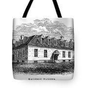 Raleigh Tavern, 1770s Tote Bag