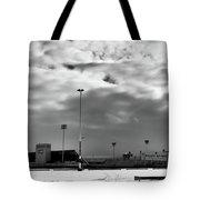 Ralph Wilson Stadium - Off Season Tote Bag
